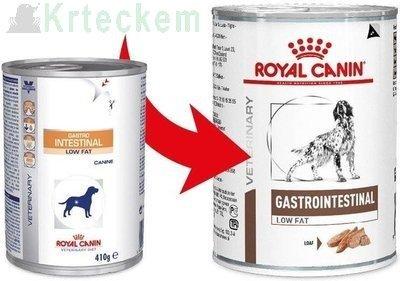ROYAL CANIN Gastro Intestinal Low Fat LF22 6x410g konzerva