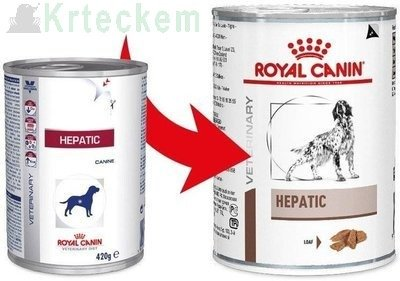 ROYAL CANIN Hepatic HF 16  6x420g konzerva
