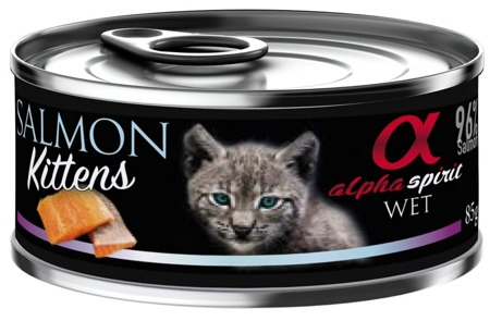 ALPHA SPIRIT Losos - pro koťata 85g
