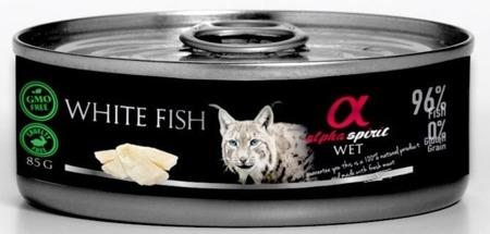ALPHA SPIRIT White fish Bílá ryba 85 g
