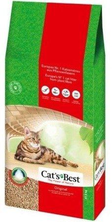 JRS Cats Best Eko Plus - Hrudkující stelivo Dřevěný 40l / 17,2kg