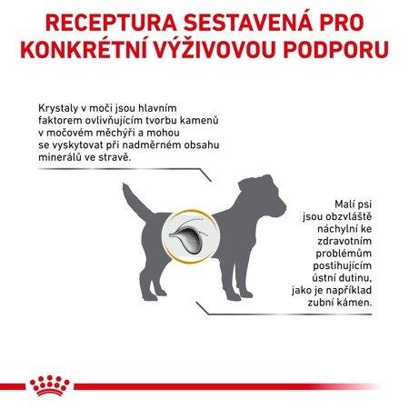 ROYAL CANIN Urinary S/O USD 20 malý pes 8kg